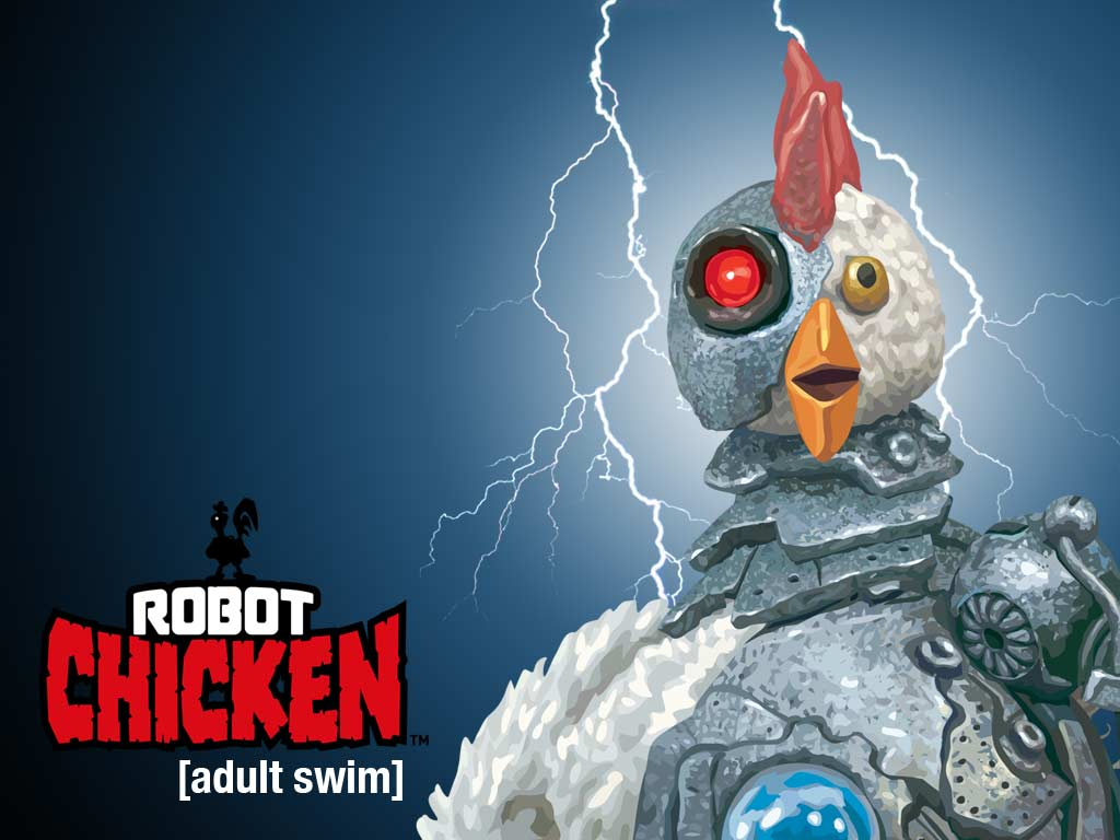 robot chicken wallpaper1 Robot Chicken Interactive Video